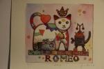 Romeo - 20x22 cm- 50 copie - acquaforte acquerellata - franco grobberio