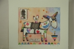 Trabuc - 20x22 cm - 30 copie - acquaforte acquerellata - franco grobberio
