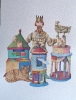 Il mio regno per un castello - acquerello- 26x36 cm- 300€